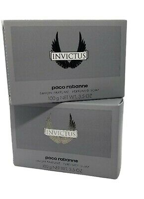 Lot of 4 INVICTUS by Paco Rabanne Men's All Over Shampoo 100ml / 3.4oz x4 NEW