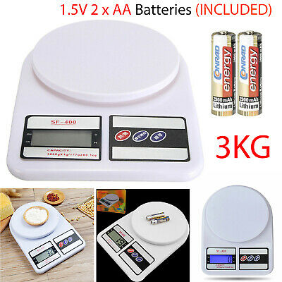 3Kg Digital LCD Electronic Weighing Scales Postage Postal Parcel Kitchen Scale