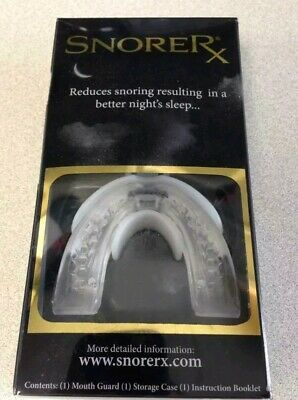 Anti-Snore Oral Appliance Mouth Piece Guard Stop Snoring