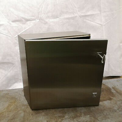 Rittal 500x500x210 304 Stainless Enclosure AE 1007 600 Automation Electric Gates
