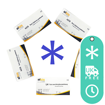 Ovulation Tests Strips LH 25 mIU/ml Sensitive One Step Rapid Urine Testing Home