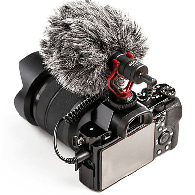 BOYA BY-MM1 Cardiod Video Miniphone MIC for iPhone Samsung DSLR Camera Cano TPD
