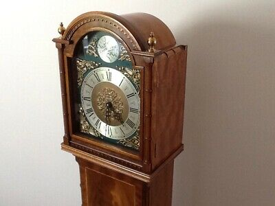 Grandmother Clock - Mahogany - Louth