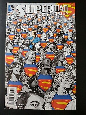 OF 7 2016 SUPERMAN AMERICAN ALIEN #7 1ST PRINTING BAGGED /& BOARDED DC COMICS