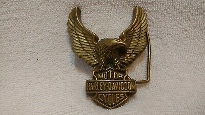 Harley Davidson Motorcycles Eagle Buckle 1979 Baron  Excellent Looks Hardly Used
