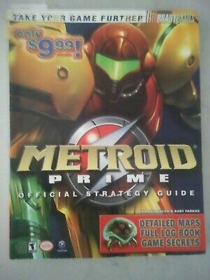 Metroid Prime Strategy Guide BradyGames GameCube