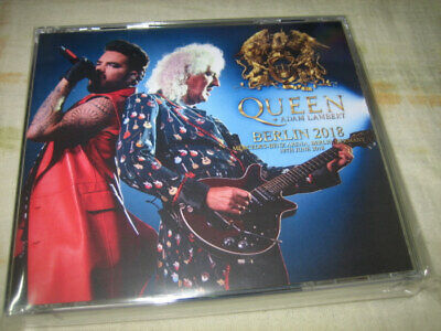 Queen + Adam Lambert Berlin 2018 (Germany, 19th June 2018) rare 2CD+1DVD