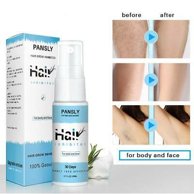 PANSLY Hair Growth Inhibitor Painless Hair Removal Spray Shrink Pore for Private