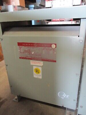 GE 15KVA TRANSFORMER 3 Phase 480v-208v/120v delta wye 460v ... on