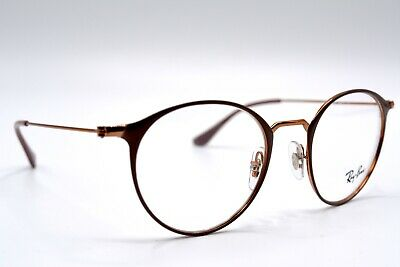 66177047f4e2 New Ray-Ban Rb6378 2973 Purple / Brown Authentic Eyeglasses Frame Rx 49-21