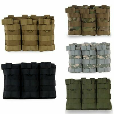 Tactical Molle Plate Carrier Combat Vest US Navy Seals Military Hunting 1000D