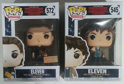 Funko POP Eleven Season 2 #545 & EXCLUSIVE Punk #572 Stranger Things Figures