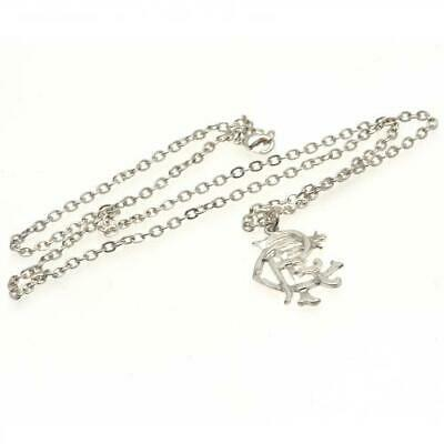 Glasgow Rangers FC Official Silver Plated Pendant and Chain