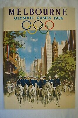 Olympic Games Collectable 1956 Melbourne National Travel Association Pictorial
