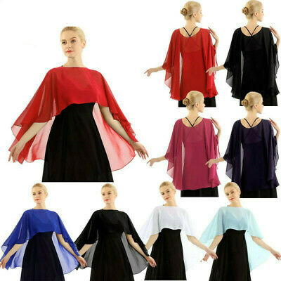 WOMENS CHIFFON SHAWLS and Wraps for Evening Dress Soft Scarve for
