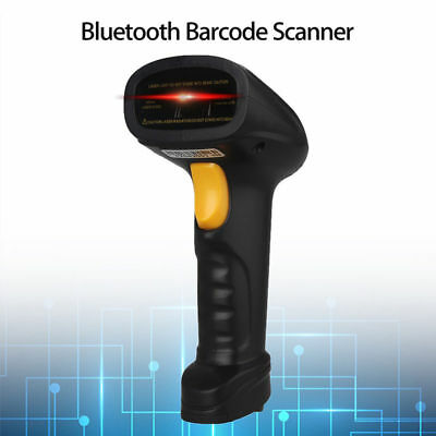 Wireless BTOOTH Barcode Scanner Reader For Android Wins iPhone X 8P Samsung 8