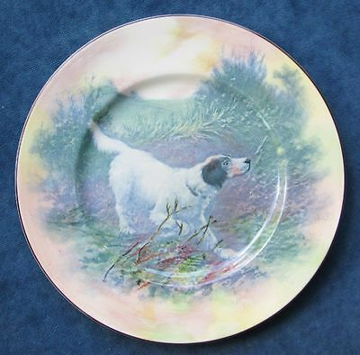 Beautiful Vintage Royal Doulton English Setter Display Plate