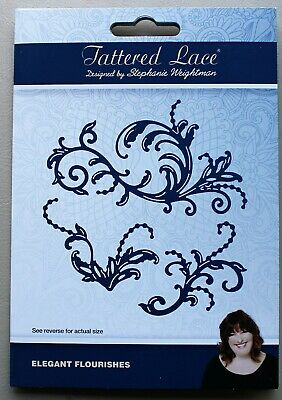 D1051 NEW Tattered Lace /'GRACEFUL GLIDING/' Die FREE UK P/&P