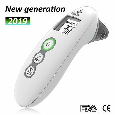 Ritalia Forehead & Ear Infrared Digital Baby Thermometer Clinical Accuracy
