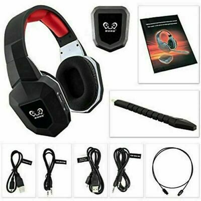 Wireless Moving Coil Headset Over Ear Stereo Gaming Headphones with Mic for XBOX