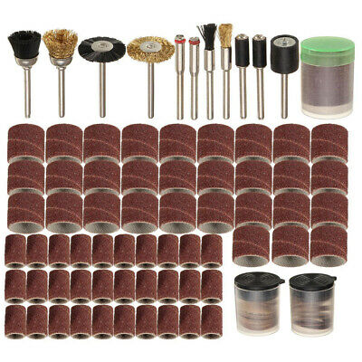 "150Pcs Rotary Power Tool Fits Dremel 1/8"" Shank Sanding Accessory Polish Bit Set"