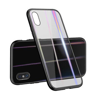 New Magnetic Adsorption Slim Shockproof Clear Back Case Cover For iPhone M8D5F