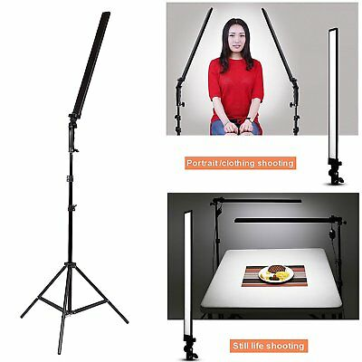 Photography 30W LED Video Lamp Light Softbox Continuous Dimmable Lighting Kit