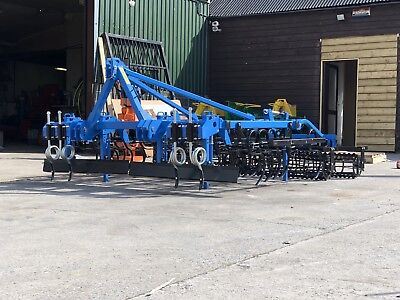Spring Tine Seedbed Universal Combination Cultivator Tractor 2.8m £2550 + VAT