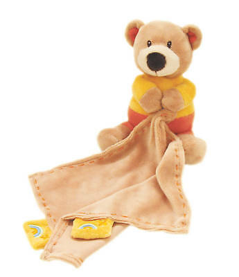 *NEW plush soft toy BEAR DOUDOU SECURITY COMFY  BLANKET