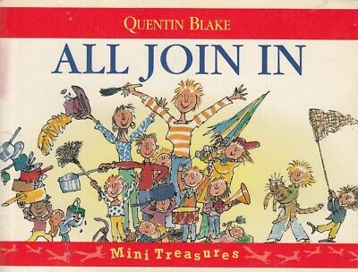 All Join In - Quentin Blake - Red Fox - Acceptable - Paperback