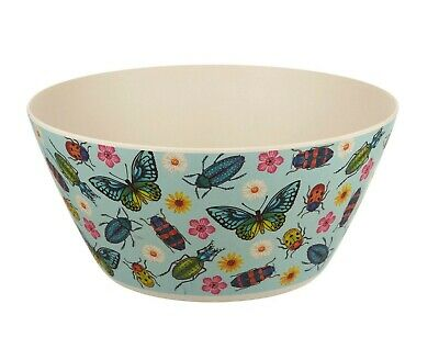 Bamboo Salad Bowl  'Butterflies & Beetles' by Sass & Belle BBQ, Dish, Floral