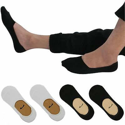 Invisible Socks Trainer No Show Ankle Secret Cotton Rich Liner Footsies MENS