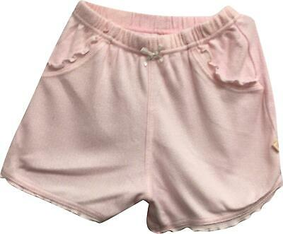 PRE-OWNED Girls Mothercare Pink Floral Design Shorts Size 6-9 Months