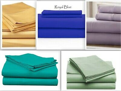 """4 Piece Sheet Set Persian Collection 1800 Count Wrinkle Free Deep Pocket 16"""" New"""