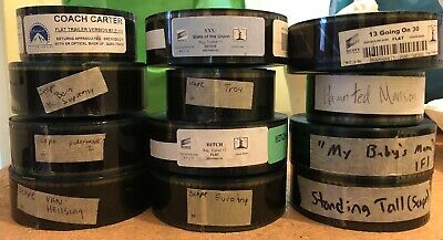 35mm Film Trailer Lot Of 12 - A