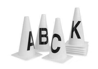 cones with lettere for from field dressage Arena marker cones Dressage