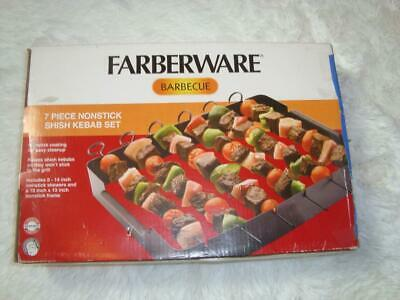 Farberware  BBQ Set Kebab Set 7 piece Stainless Steel for BBQ Accessory
