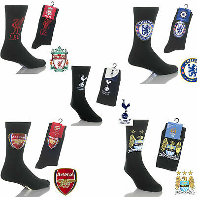1 Pair Mens Adults Football Club Socks Official Licensed Merchandise Size 6 11