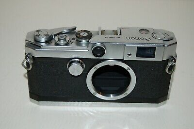 Canon-L3 Vintage 1957 Japanese Rangefinder Camera. Service. No.578439. UK Sale