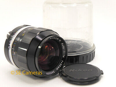 Nikon Pre Ai 35Mm F1.4 Nikkor N Auto Fast Wide Angle Lens *Excellent Condition*
