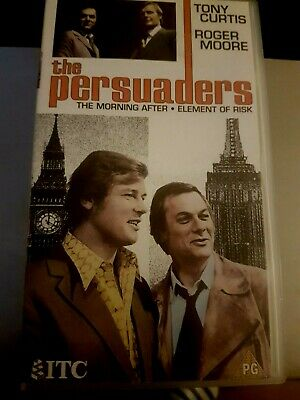 The Persuaders  Vhs Cassette Uk Pal