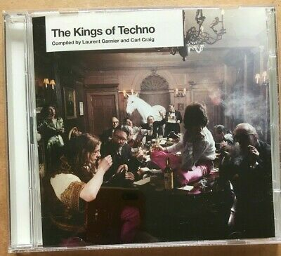 KINGS OF TECHNO Promo 2xCD LAURENT GARNIER CARL CRAIG BBE Detroit BFC Arpanet