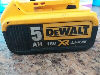 Dewalt 18v battery 5ah xr