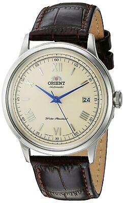 Orient Men's 2nd Gen. V.2 Automatic Stainless Steel & Leather Watch FAC00009N0