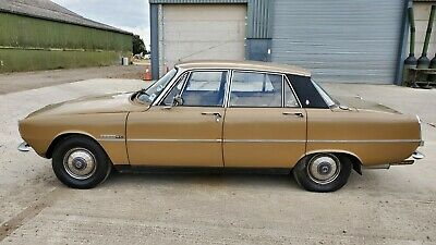1975 Rover P6 - 1 owner from new - Genuine garage find - No Reserve