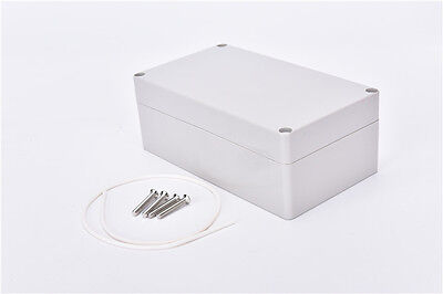 Waterproof Plastic Electronic Project Box Enclosure Cover CASE 158x90x60mm CZN