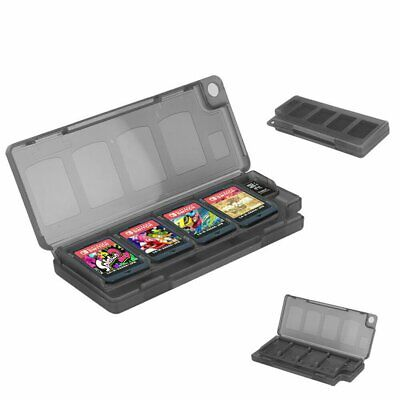10 in 1 Memory Game Card Holder Cartridge Box Organizer For Nintendo Switch RU