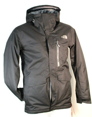 New THE NORTH FACE Size Small Black Gatekeeper Insulated Men Jacket RETAIL $299