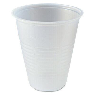 Fabri-Kal 9508022 7 oz. RK Ribbed Cold Drink Cups (Clear) New