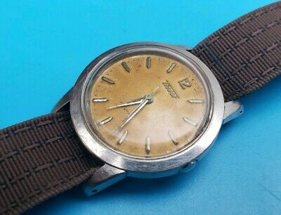 Vintage TISSOT 23.3R-21 AUTOMATIC Mens 17j SS wrist Watch in good Working Order